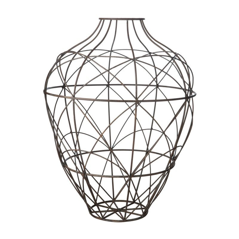Dimond Home Wire Vessel in Russet - Large (594014)