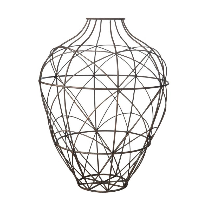 Dimond Home Wire Vessel in Russet - Small (594013)