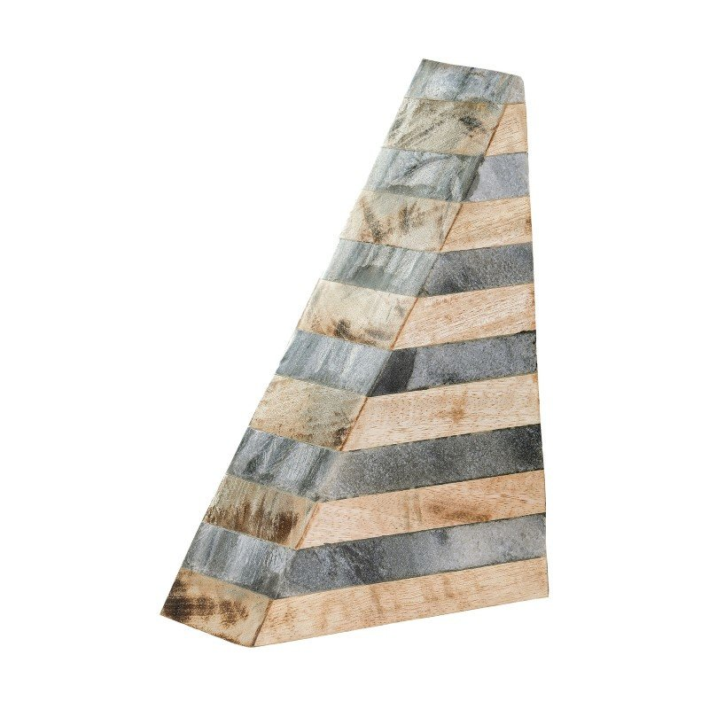 Dimond Home Wood And Marble Bookend (8989-019)