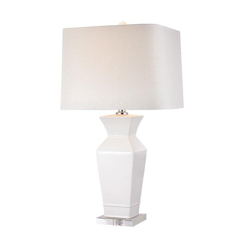 Dimond Lighting Angular Tapered Neck Lamp (D2807)