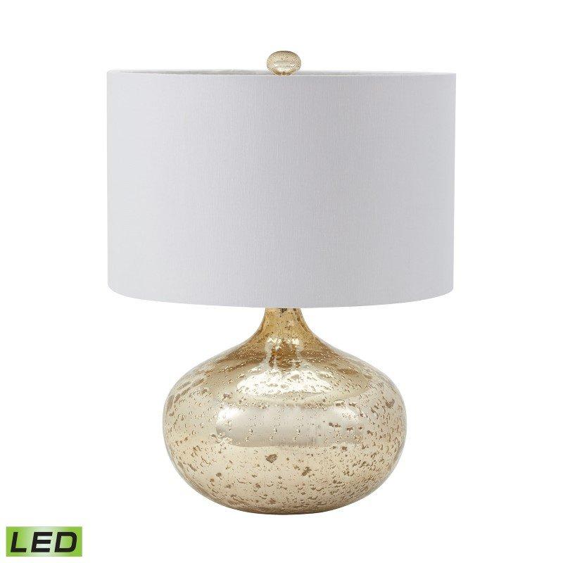 Dimond Lighting Antique Mercury Glass LED Table Lamp in Gold (983-002-LED)