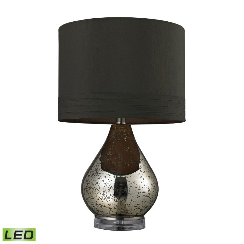 Dimond Lighting Antique Mercury Glass LED Table Lamp in Gold (D244-LED)
