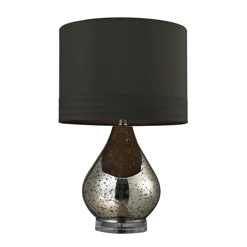 Dimond Lighting Antique Mercury Glass Table Lamp in Gold (D244)