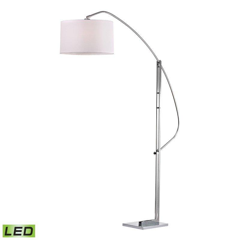 Dimond Lighting Assissi Adjustable LED Floor Lamp in Polished Nickel (D2471-LED)