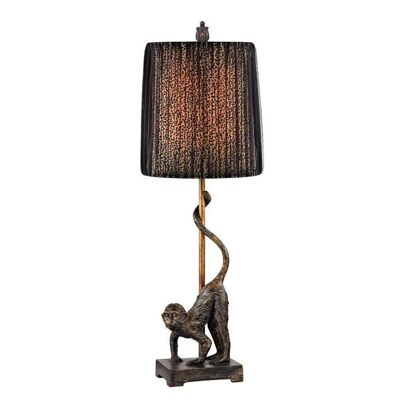 Dimond Lighting Aston Monkey Table Lamp in Bronze (D2477)