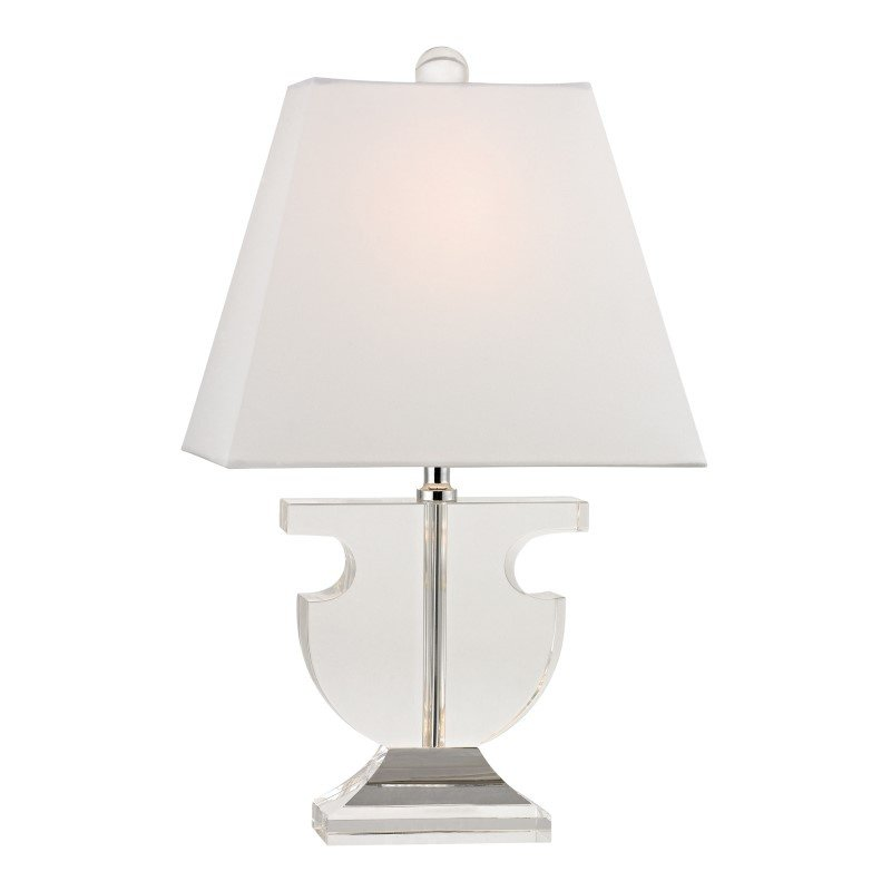 Dimond Lighting Bailey Mews Mini Solid Clear Crystal Table Lamp (D2485)