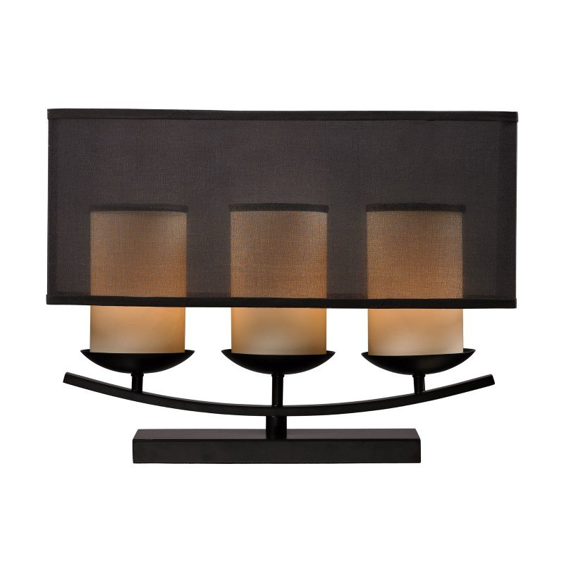 Dimond Lighting Bakersfield 3 Light Candle Lamp In Bronze Paint Finish (D2300)