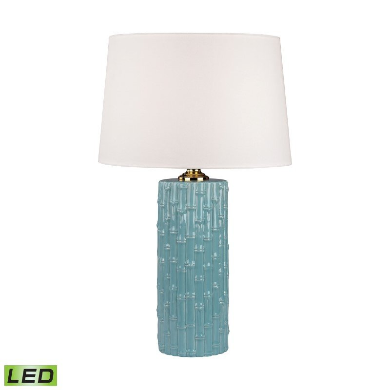 Dimond Lighting Bamboo Ceramic LED Table Lamp ( 8001-LED)