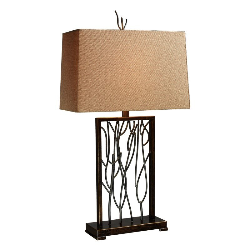 Dimond Lighting Belvior Park Table Lamp In Aria Bronze And Iron (D1518)