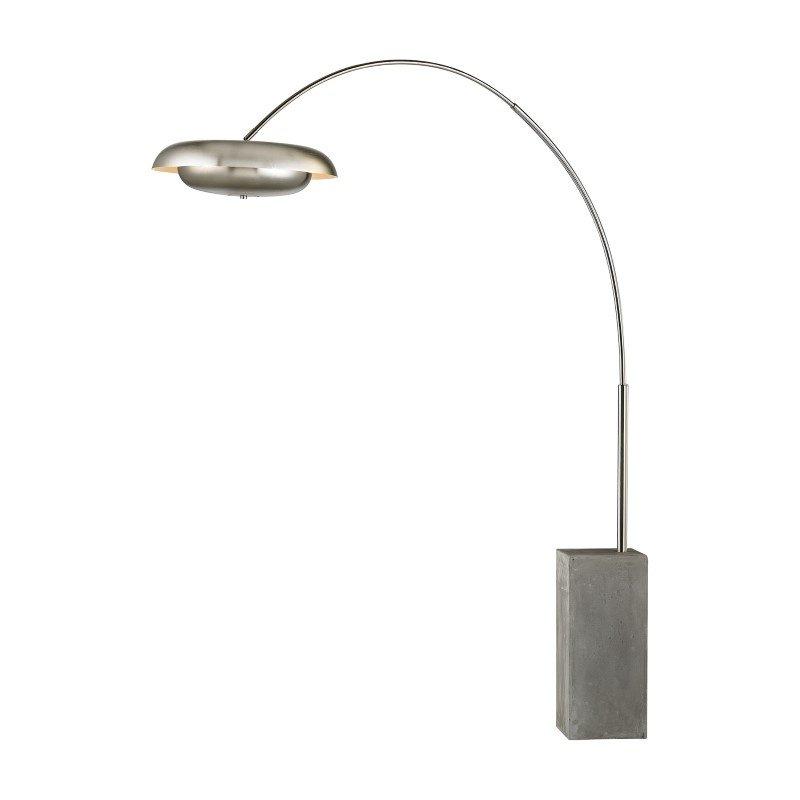 Dimond Lighting Berne 3 Light Floor Lamp In Satin Nickel (D2977)