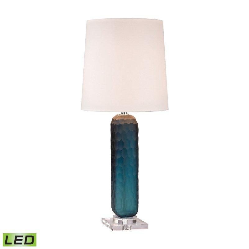 Dimond Lighting Blue Glass LED Batton Lamp (D2883-LED)
