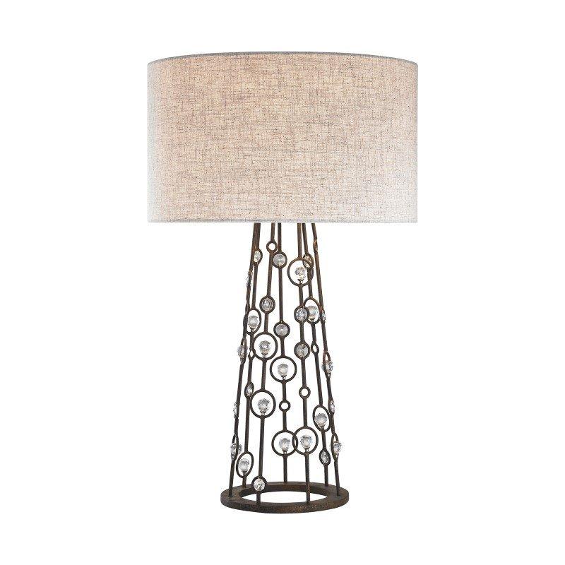 Dimond Lighting Boheme 2 Light Table Lamp In Burnley Bronze (D3005)