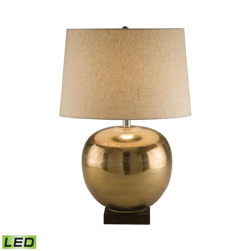 Dimond Lighting Brass Ball LED Table Lamp ( 8000-LED)