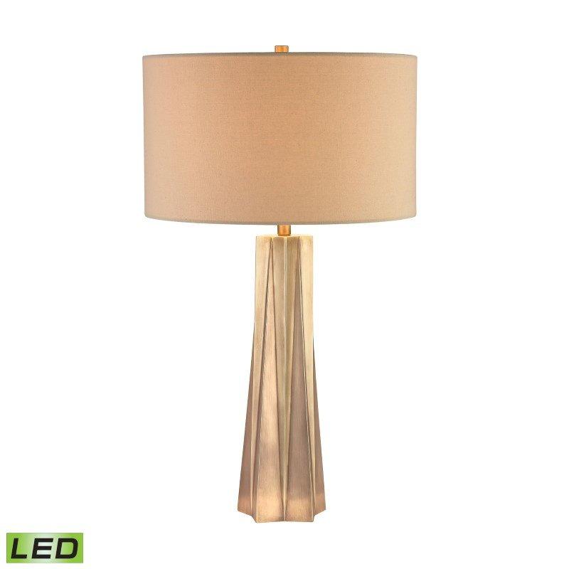 Dimond Lighting Brass Finish Origami LED Lamp (D2847-LED)