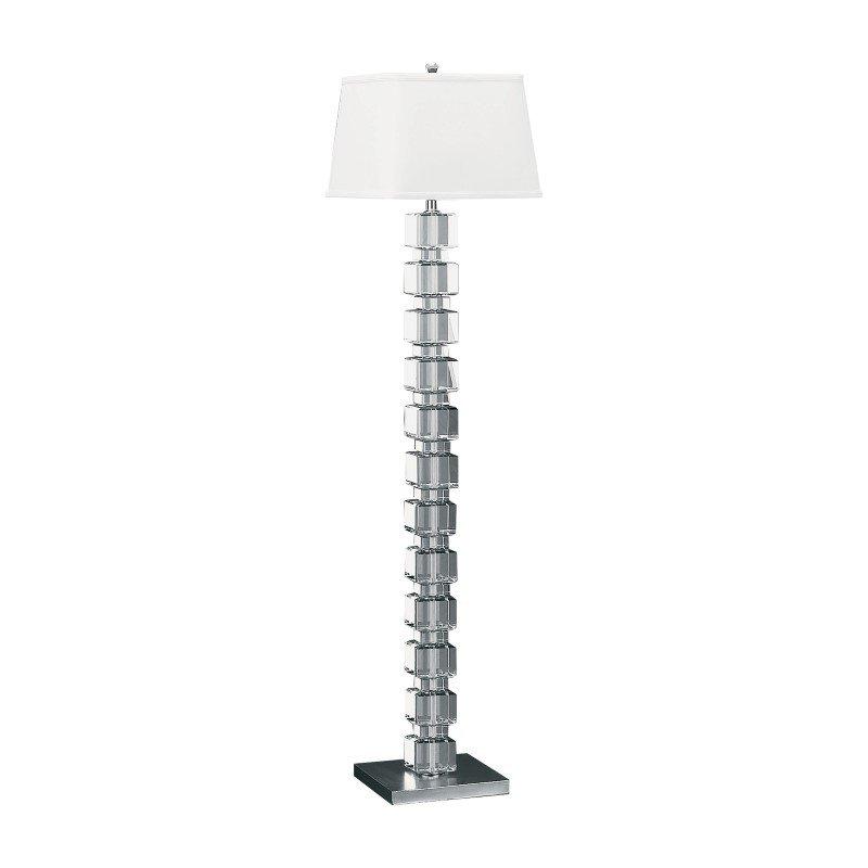 Dimond Lighting Cubist Crystal Floor Lamp ( 759)