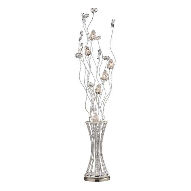 Dimond Lighting Cyprus Grove Floor Lamp In Satin Nickel (D2130)