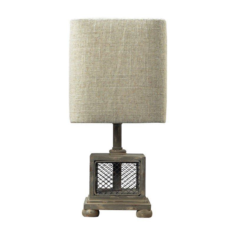 Dimond Lighting Delambre Mini Table Lamp in Montauk Grey (93-9150)