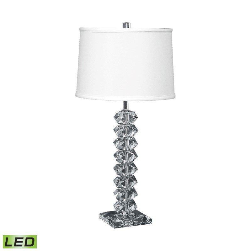 Dimond Lighting Diamond Cut Crystal LED Table Lamp ( 10004-LED)