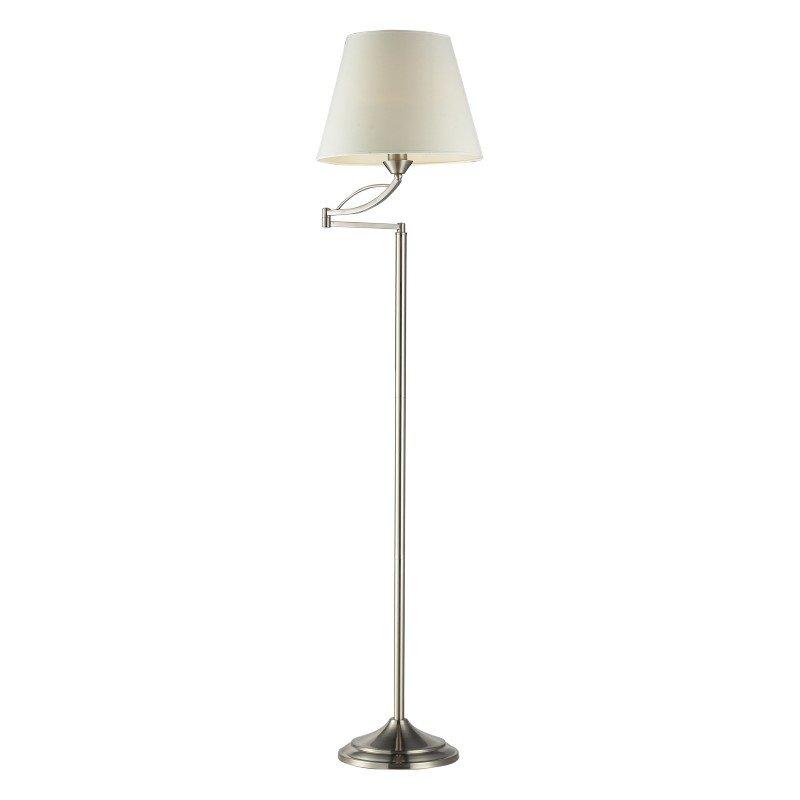 Dimond Lighting Elysburg 1 Light Floor Lamp In Satin Nickel (17047/1)
