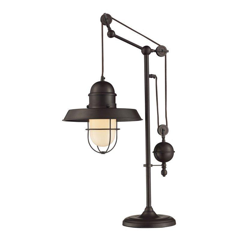 Dimond Lighting Farmhouse Table Lamp in Oiled Bronze (65072-1)