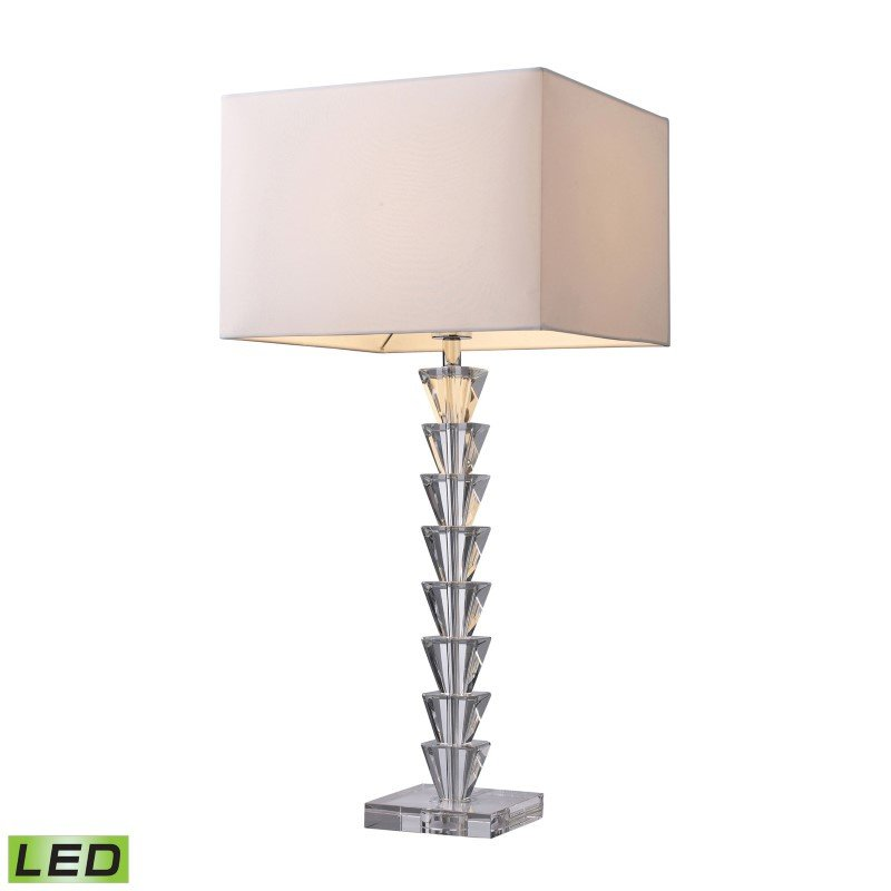 Dimond Lighting Fifth Avenue LED Table Lamp In Clear Crystal (D1482-LED)