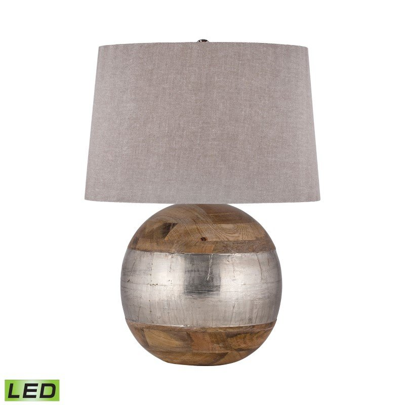 Dimond Lighting German Silver LED Table Lamp (8983-020-LED)