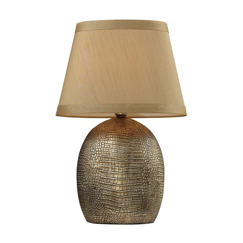 Dimond Lighting Gilead Table Lamp With Alligator Texture Base In Meknes Bronze (D2222)