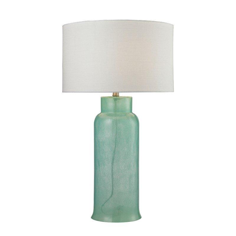 Dimond Lighting Glass Bottle Table Lamp In Seafoam Green (D2654)