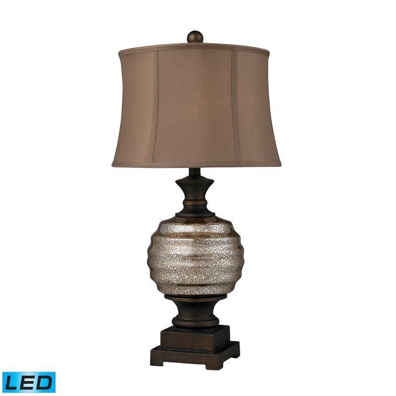 Dimond Lighting Grants Pass Antique Mercury Glass LED Table Lamp in Bronze (D2308-LED)