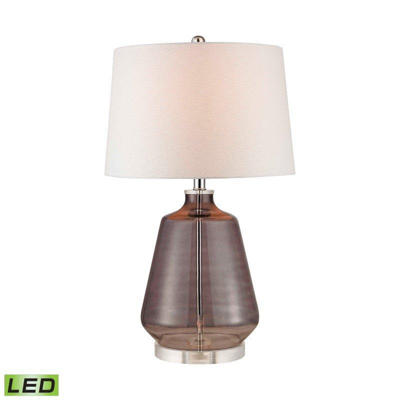Dimond Lighting Grey Smoked Glass LED Lamp (D2835-LED)
