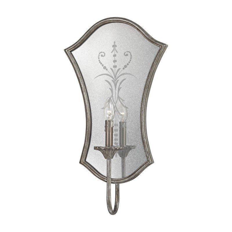Dimond Lighting Gruyere 1 Light Wall Sconce In Antique Silver (D2988)
