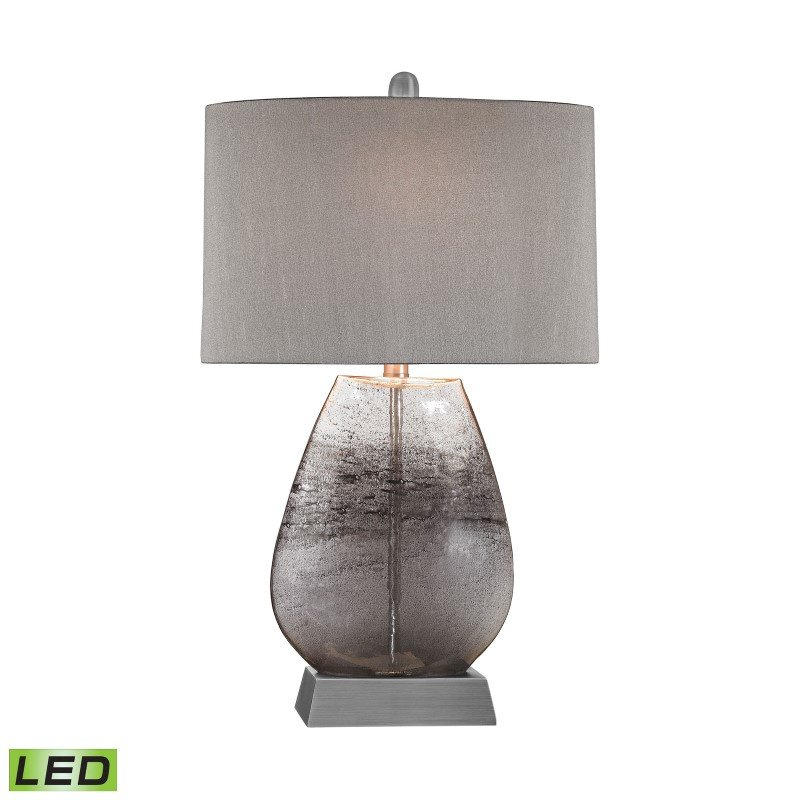 Dimond Lighting Haarlem 1 Light LED Table Lamp in Storm Grey And Pewter ( D2913-LED)