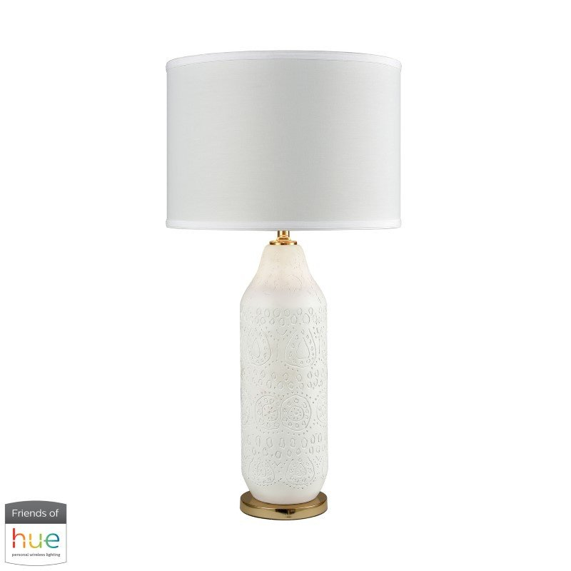 Dimond Lighting Ibiza Table Lamp with Philips Hue LED Bulb/Dimmer (D3208-HUE-D)
