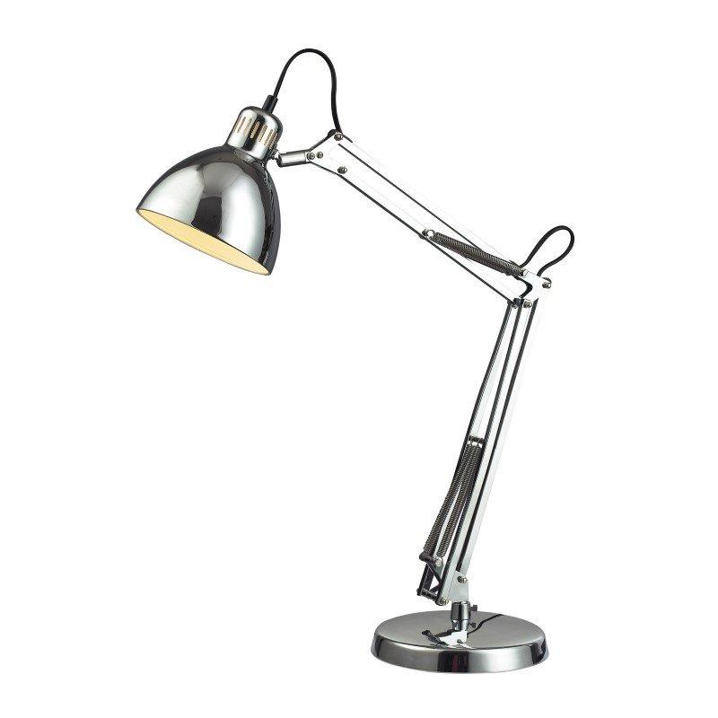 Dimond Lighting Ingelside Desk Lamp In Chrome With Chrome Shade (D2176)