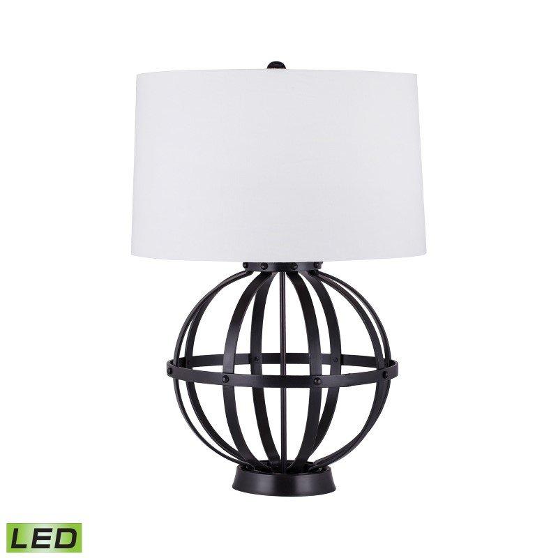 Dimond Lighting Iron Wire Sphere LED Lamp (8983-024-LED)