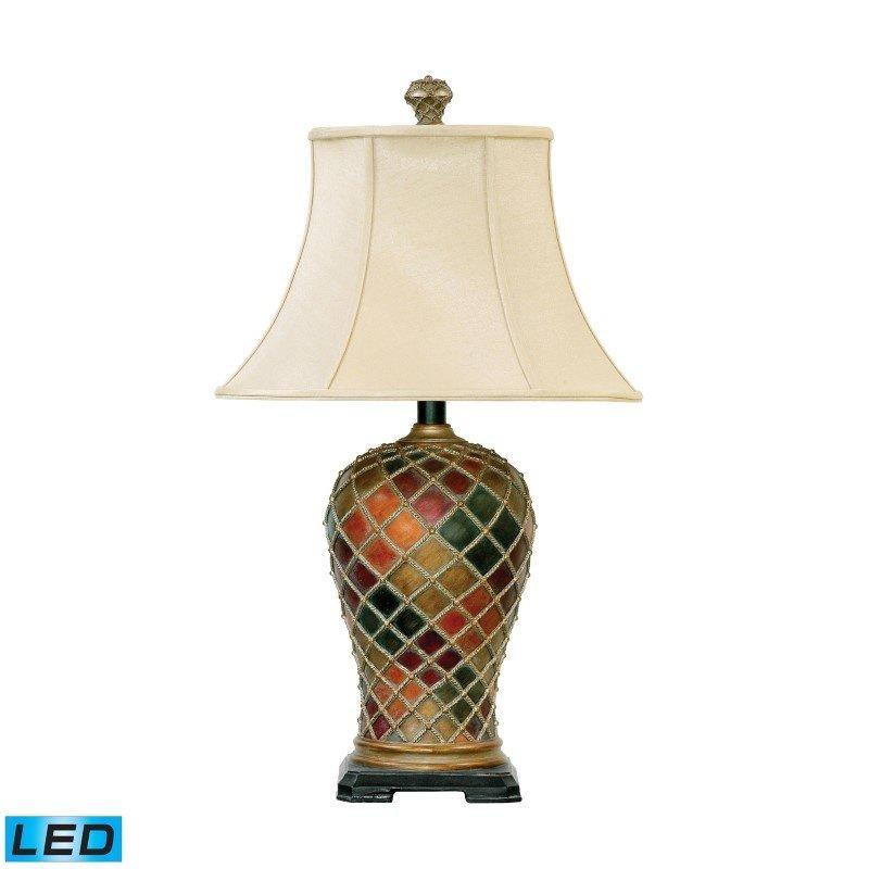 Dimond Lighting Joseph LED Table Lamp in Bellevue Finish (91-152-LED)