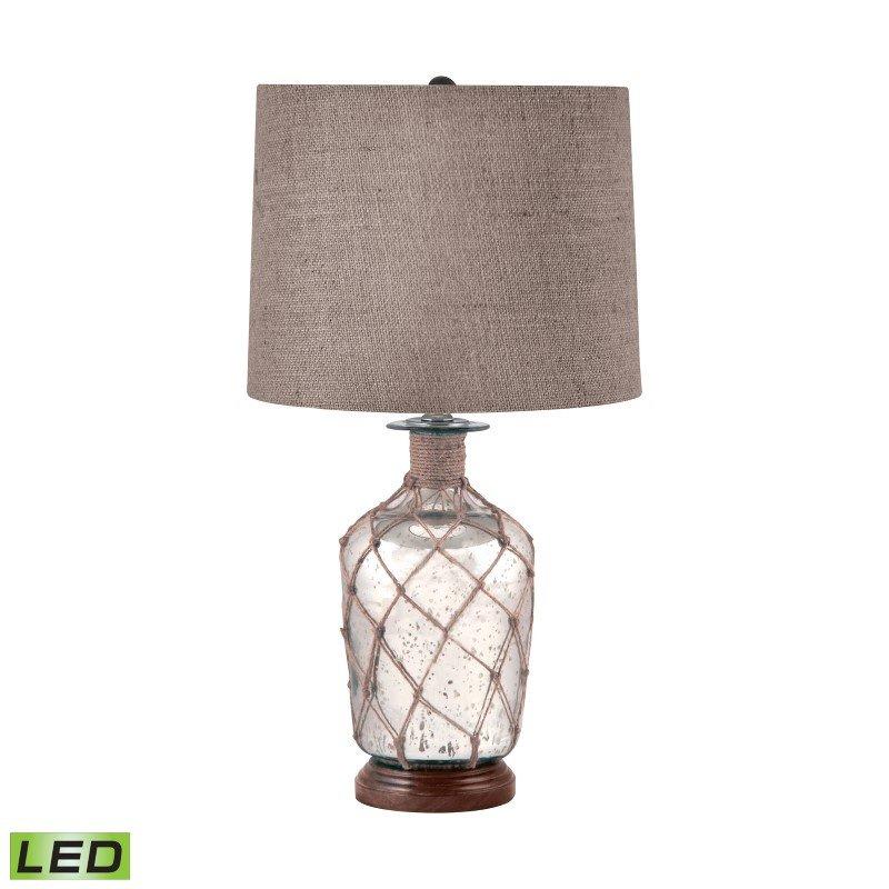 Dimond Lighting Jute-Wrapped Mercury Glass LED Table Lamp ( 289-LED)