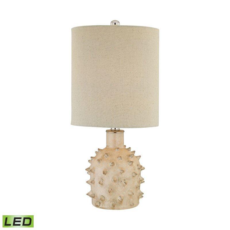 Dimond Lighting Kankada 1 Light LED Table Lamp in Cumberland Cream Crackle ( D2918-LED)