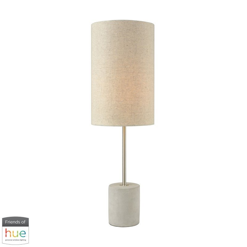 Dimond Lighting Katwijk Table Lamp with Philips Hue LED Bulb/Dimmer (D3453-HUE-D)