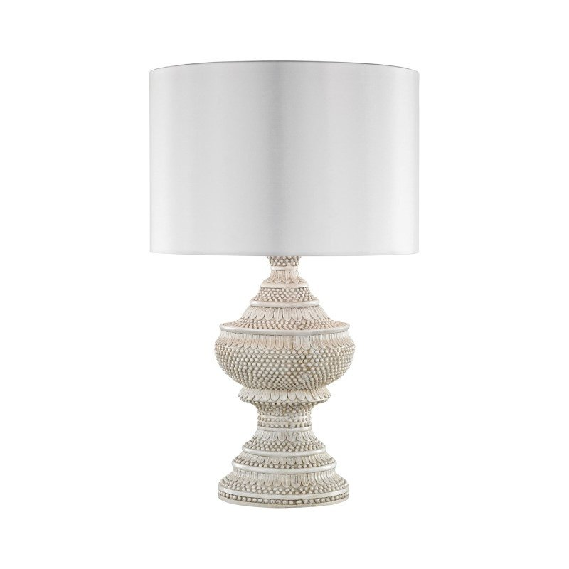 Dimond Lighting Kokopo Outdoor Table Lamp With White Shade (D3095W)