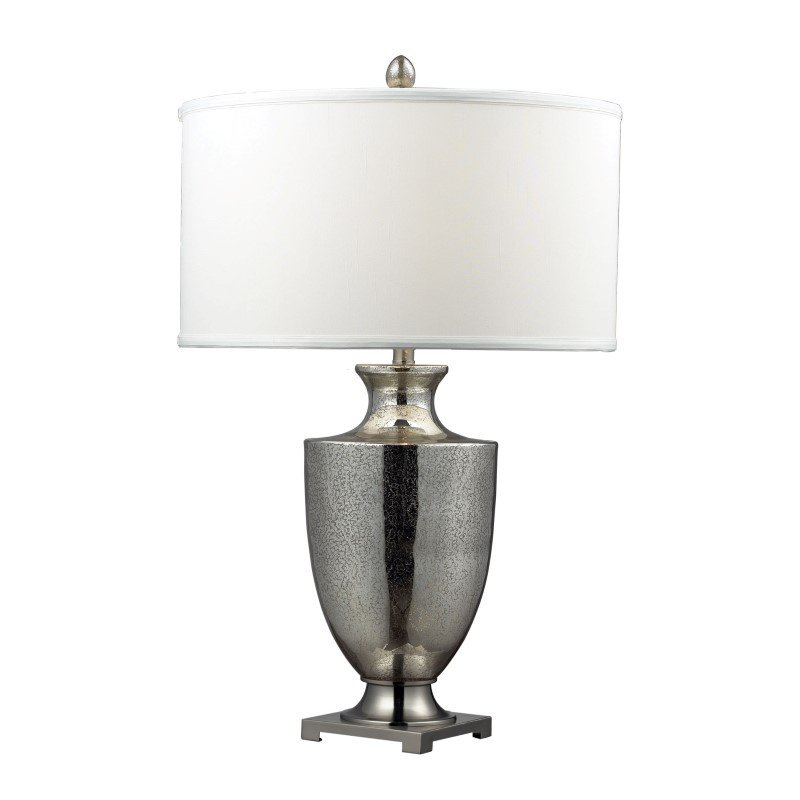 Dimond Lighting Langham Table In Antique Mercury Glass And Polished Chrome (D2248W)