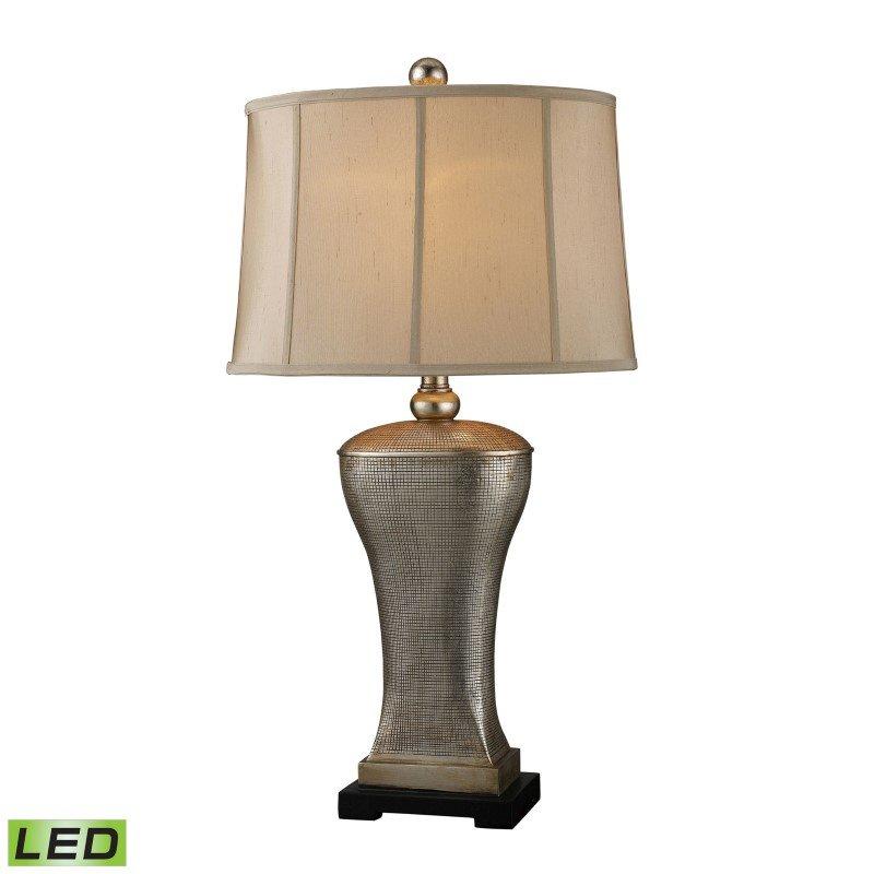 Dimond Lighting Lexington Avenue LED Table Lamp In Silver Lake Finish (D1431-LED)