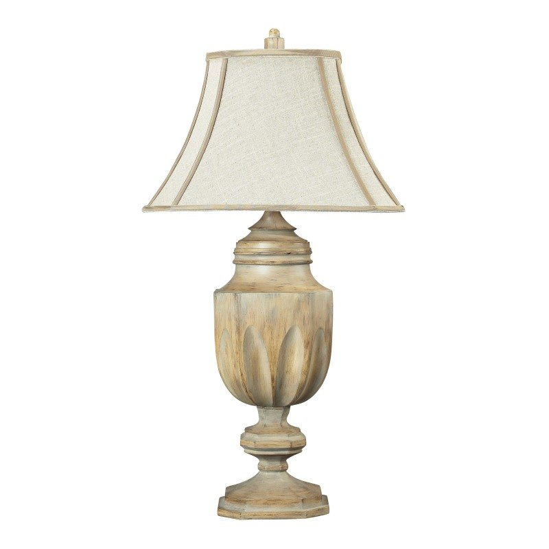 Dimond Lighting Lone Oak Bleached Wood Table Lamp (93-9243)