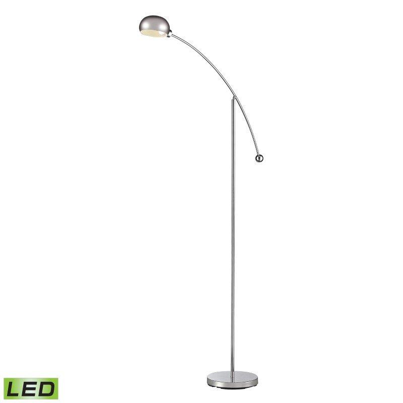 Dimond Lighting Louis Adjustable LED Floor Lamp in Polished Chrome (D2714)