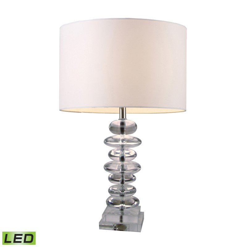 Dimond Lighting Madison LED Table Lamp In Clear Crystal (D1512-LED)