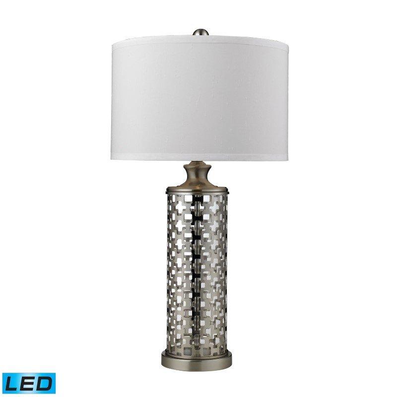 Dimond Lighting Medford LED Table Lamp in Brushed Nickel (D2313-LED)