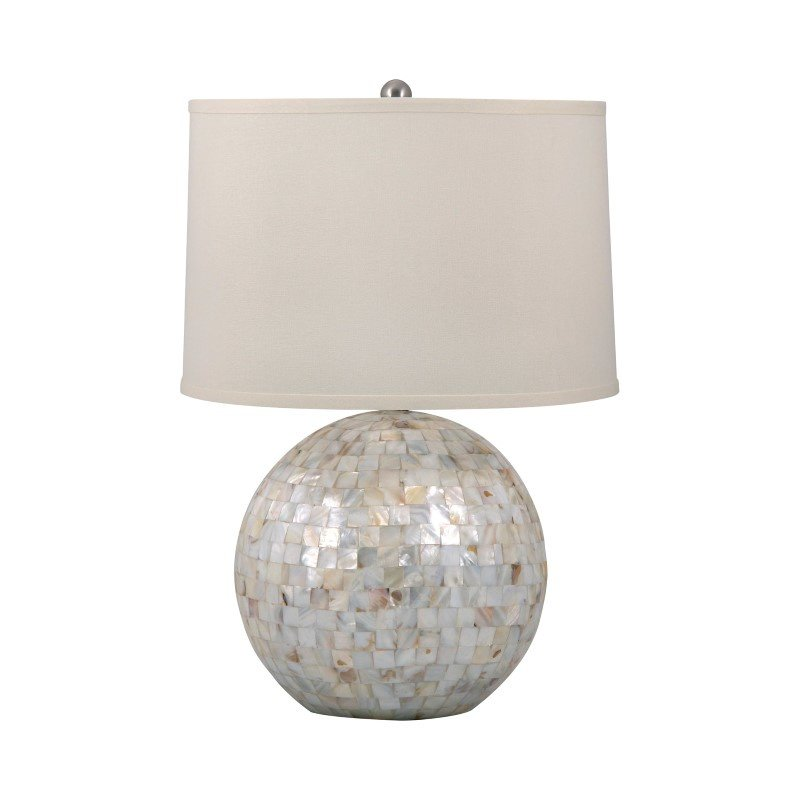 Dimond Lighting Mother of Pearl Orb Table Lamp ( 810)
