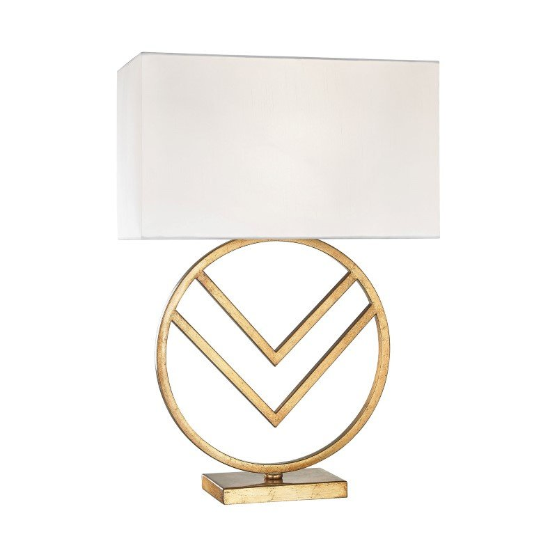 Dimond Lighting Munich 1 Light Table Lamp In Gold Leaf (1141-002)