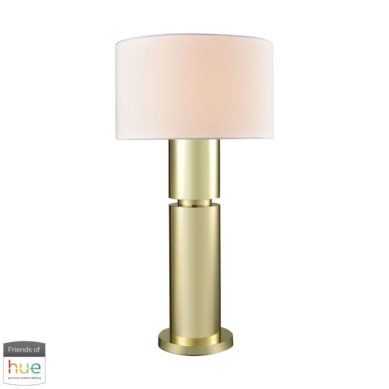 Dimond Lighting Nikki Table Lamp with Philips Hue LED Bulb/Bridge (D3204-HUE-B)