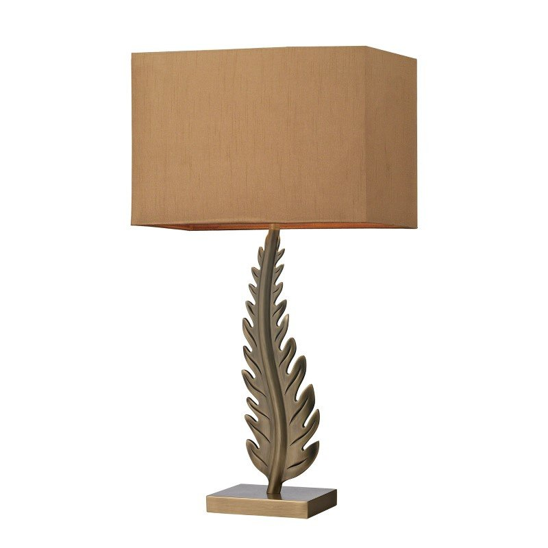 Dimond Lighting Oak Cliff Solid Brass Table Lamp in Aged Brass (D2684)